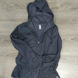 Gap Body Navy full zip hooded jacket